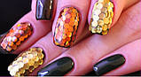 Набір паєток для дизайну нігтів, кольорові 12 шт номер 1, фото 3