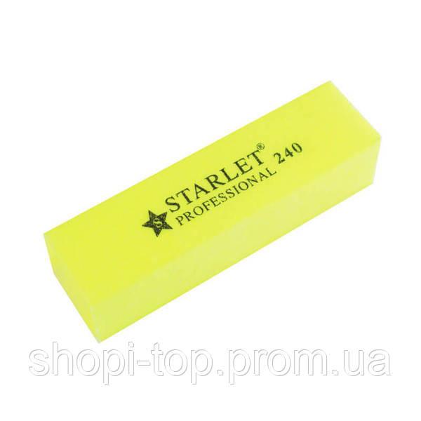 Баф для нігтів Starlet Professional 240/240