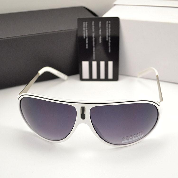 Мужские солнцезащитные очки Carrera овальные Cardeo Брендовые Стильные Карерра копия
