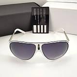 Мужские солнцезащитные очки Carrera овальные Cardeo Брендовые Стильные Карерра копия, фото 4