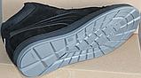 Ботинки осенние на байке мужские замшевые от производителя модель ВК001, фото 4