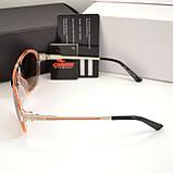 Мужские солнцезащитные очки Carrera овальные Carriere под Брендовые Стильные Карерра копия, фото 3