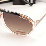 Мужские солнцезащитные очки Carrera овальные Carriere под Брендовые Стильные Карерра копия, фото 2