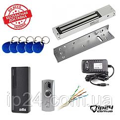 Комплект СКД (считыватель+замок+БП+кабель+ключи)