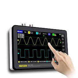 Осциллограф с сенсорным экраном ADS1013D 2CH 100 МГц USB