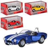 Детская игрушечная машинка Кабриолет KT5322W, инерционная машинка, Кинсмарт, металл, коллекционный автомобиль