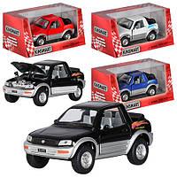 Детская игрушечная машинка Тойота KT 5011 W, инерционная машинка, Кинсмарт, коллекционный автомобиль