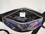 GT-Новый Унисекс сумка на пояс Tik Tok Отличное качество глянцевый Аврора Цвет С Оксфорд ткань1000D опт, фото 7