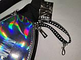 GT-Новый Унисекс сумка на пояс Tik Tok Отличное качество глянцевый Аврора Цвет С Оксфорд ткань1000D опт, фото 8