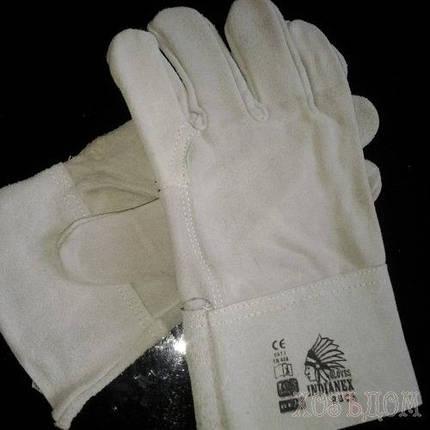 Перчатки для сварщика короткие, фото 2