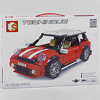 "Конструктор Sembo 701503 ""Мини купер"" Mini Cooper 557 деталей"