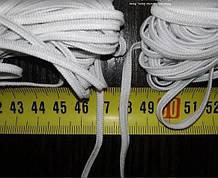 Гумка чорна і біла для масок,діаметр 4 мм, від 400м