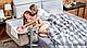 Детская приставная кроватка Kinderkraft Neste Up Beige, фото 7
