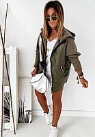 Женская стильная демисезонная куртка