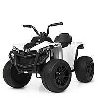 Детский квадроцикл M 4229 EBR-1, колеса EVA, с пультом управления, белый