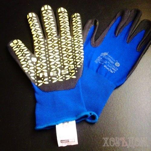 Перчатки изготовленные из смеси лайкры и нейлона