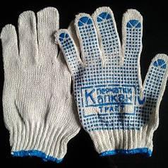 Перчатки с ПВХ точкой Капкан