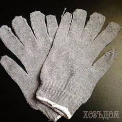 Перчатки серые без ПВХ