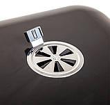 Вугільний гриль з кришкою на колесах LV20021703K, фото 5