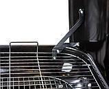 Вугільний гриль з кришкою на колесах LV20021703K, фото 9