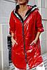Куртка из плащевки с капюшоном женская НОРМА (ПОШТУЧНО)