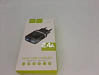 СЗУ HOCO C12 Smart (2USB/2.4A) (черный), фото 1