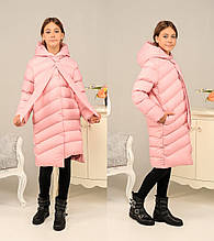 Стильне зимове пальто на дівчинку «Даяна», р-ри 134,140