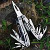 Мультитул 14 в 1 Многофункциональный нож , Карманный нож в чехле Отвертка, Пласкогубцы