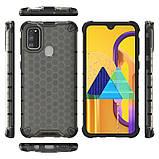 Ударопрочный чехол Honeycomb для Samsung Galaxy M30s / M21, фото 2