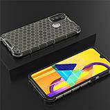 Ударопрочный чехол Honeycomb для Samsung Galaxy M30s / M21, фото 3