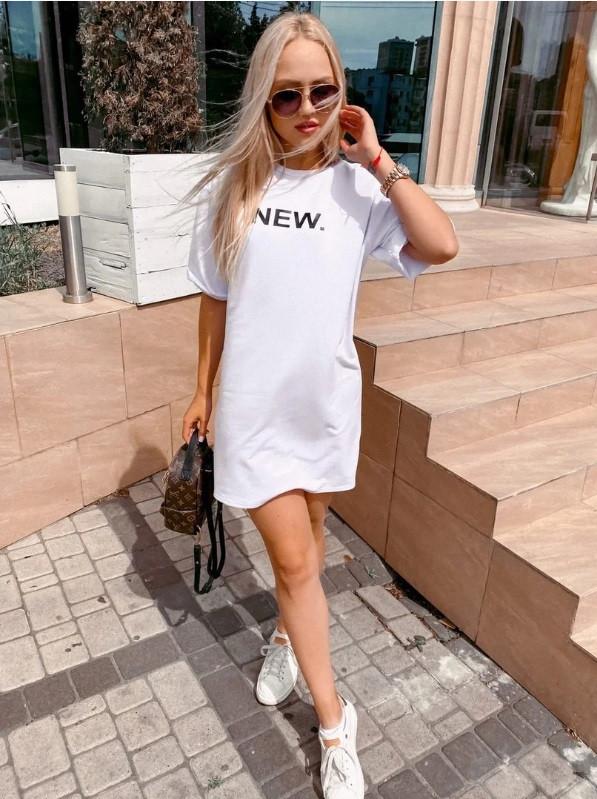 Женское стильное платье-футболка оверсайз Urban