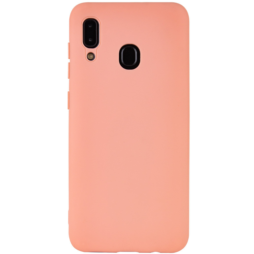 Чехол Silicone Cover with Magnetic для Samsung Galaxy A20 / A30