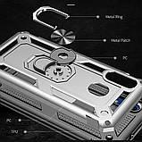 Ударопрочный чехол Serge Ring магнитный держатель для Samsung Galaxy A20 / A30, фото 6