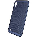 Ультратонкий дышащий чехол Grid case для Samsung Galaxy M10, фото 4