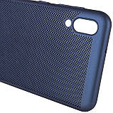 Ультратонкий дышащий чехол Grid case для Samsung Galaxy M10, фото 5