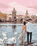 Картина по номерам Идейка Прогулка по Праге 40*50 см арт.KHO4652