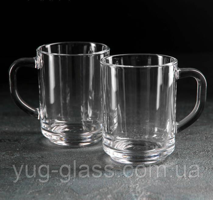 Набори келихів і чашок скляні