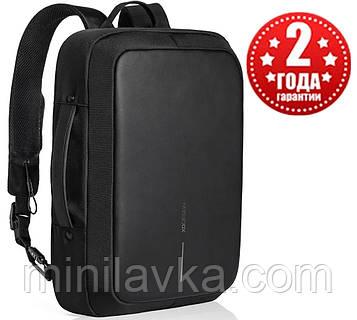 "Рюкзак для ноутбука (портфель) XD Design Bobby Bizz Анти-вор 15.6"" Black Оригинал"