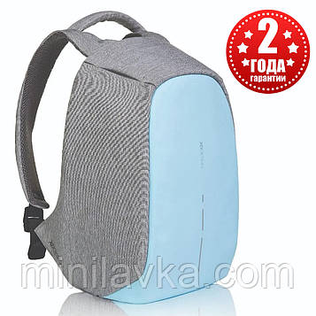 "Рюкзак міський протикрадій XD Design Bobby Compact 14"", Pastel Blue P705.530"