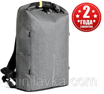 """Рюкзак міський протикрадій XD Design Bobby Urban Lite 15.6"""" Grey P705.502"""