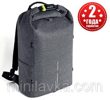 """Рюкзак міський протикрадій XD Design Bobby Urban 15.6"""" Grey P705.642"""