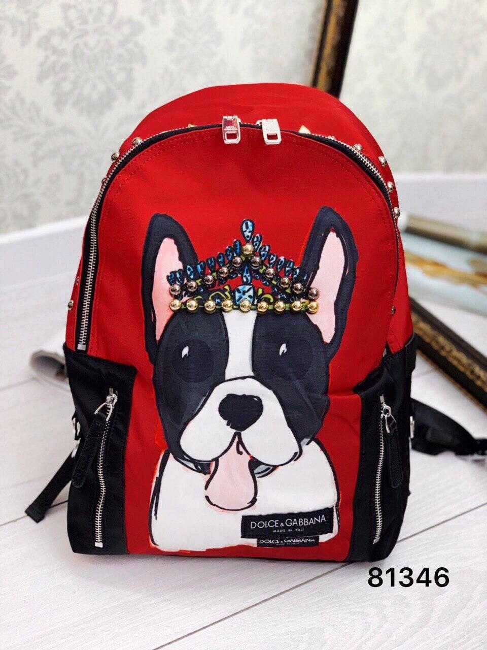 Рюкзак в стилі комбінований Дольче люкс якість
