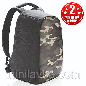 "Рюкзак протикрадій міської XD Design Bobby Compact 14"" Camouflage Green (P705.657)"