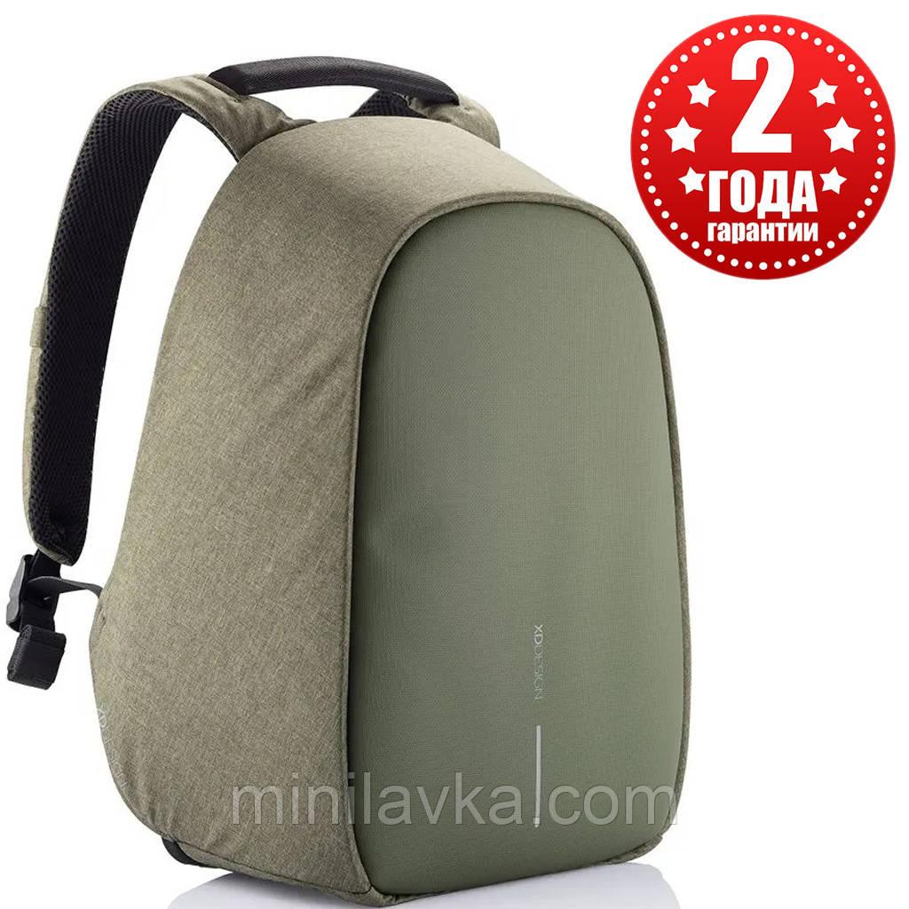 Рюкзак міський протикрадій XD Design Bobby Hero Green P705.297