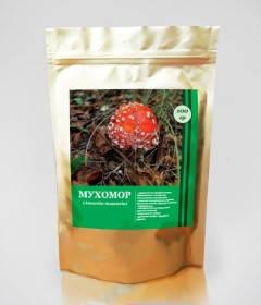Мухомор (Аманіта) порошок Фунгодоктор,капелюшки 100 г, фото 2