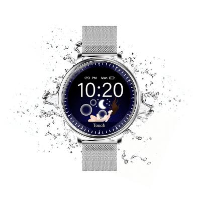 Женские смарт часы Rundoing NY12 круглые
