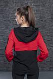 Молодежный женский свитшот,батник, худи двухцветный в разных цветах. Размеры S, M, L, XL., фото 9