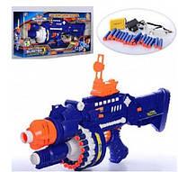 Детский реалистичный автомат-бластер Blaster SB250 с паралоновыми пулями KK