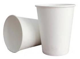 Стакан паперовий білий 250мл 50шт
