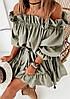 Женское платье стильное, повседневное. Ткань: Евро-софт. Размеры: 42-46., фото 2